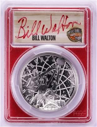 2020-P $1 Basketball HOF Silver Dollar Coin PCGS
