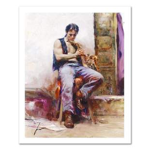"""Pino (1939-2010) """"Music Lover"""" Limited Edition Giclee"""