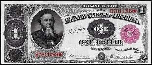 """891 $1 """"Stanton"""" Treasury Note"""