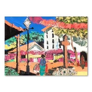 """Henrie (1932-1999) """"Afternoon on Olivera St"""" Original"""