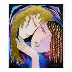 """Arbe """"Little Sister"""" Limited Edition Giclee on Canvas"""