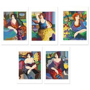 """Patricia Govezensky """"Gloria Katy Margo Sitting Pretty"""