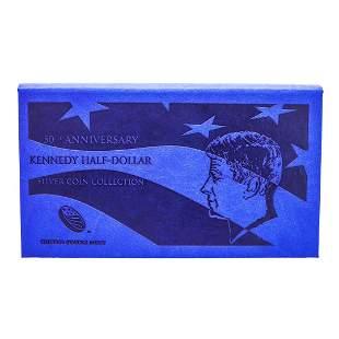 2014 50th Anniversary Kennedy Half Dollar Silver Coin