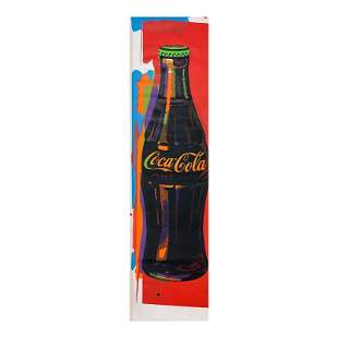 "Steve Kaufman (1960-2010) ""Coca-Cola Bottle"" Original"