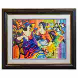 "Govezensky ""New York-New York"" Original Watercolor on"