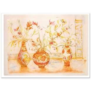 "Hibel (1917-2014) ""Chinese Vase"" Limited Edition"