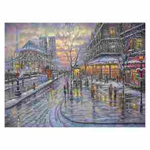 """Robert Finale """"Christmas In Paris"""" Limited Edition"""