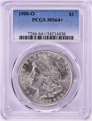 1900-O $1 Morgan Silver Dollar Coin PCGS MS64+