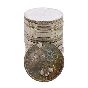 Roll of (20) Brilliant Uncirculated 1888 $1 Morgan