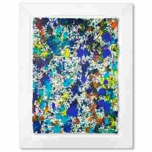 "Wyland ""Coral Reef 2"" Original Watercolor on Paper"
