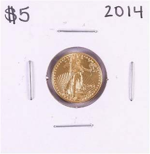 2014 $5 American Gold Eagle Coin