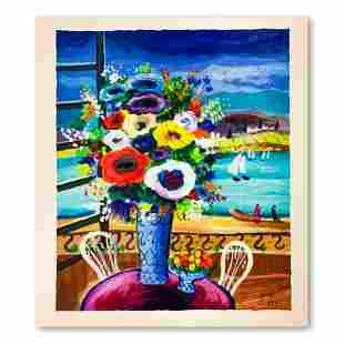 "Shlomo Alter ""Balcony Views"" Limited Edition Serigraph"
