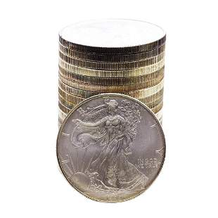Roll of (20) Brilliant Uncirculated 1996 $1 American