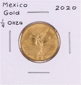 2020 Mexico Libertad 1/4 oz Gold Coin