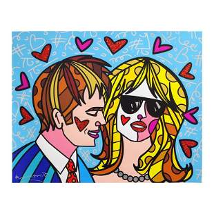"""Romero Britto """"Hotties"""" Limited Edition Giclee on"""