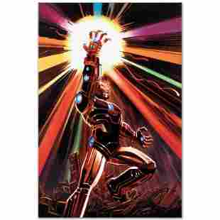 """Marvel Comics """"Avengers #12"""" Limited Edition Giclee on"""