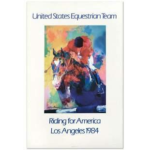 "Leroy Neiman (1921-2012) ""United States Equestrian"
