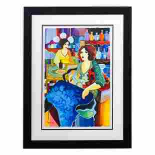 "Govezensky ""Melina House"" Original Watercolor on Paper"