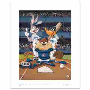 """Looney Tunes """"At The Plate (Blue Jays)"""" Limited Edition"""