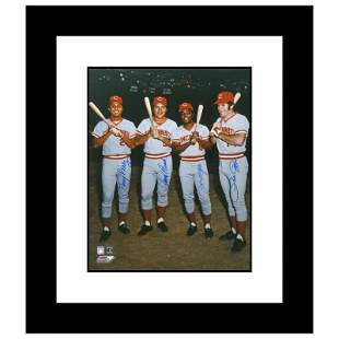 """""""The Big Four"""" Framed Autographed Photograph"""