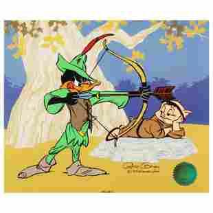 """Chuck Jones (1912-2002) """"Robin Hood: Bow and Error"""""""