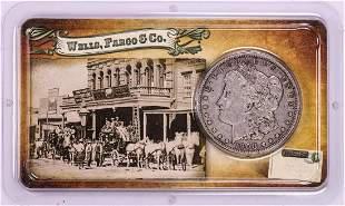 1900-O $1 Morgan Silver Dollar Coin Wells Fargo & Co.