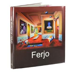 """The World of Ferjo"" Fine Art Book featuring art by"