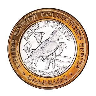 .999 Silver State of Colorado Collectors Series Lark