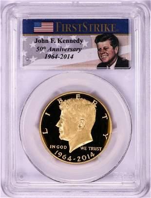 2014-W Proof Kennedy 50th Anniversary Commemorative