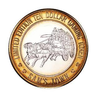 .999 Silver Sam Boyd's Sam's Town Las Vegas $10 Casino