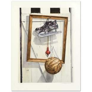 """William Nelson """"Still Life on Barn Door"""" Limited"""
