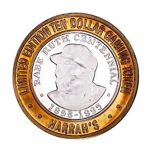 .999 Silver Harrah's Kansas City, MO $10 Casino Limited
