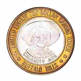 .999 Silver Buffalo Bills Resort & Casino Primm, NV $10