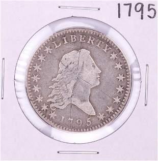 1795 Flowing Hair Half Dollar Coin