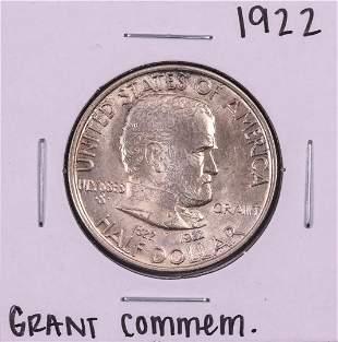 1922 Grant Commemorative Half Dollar Coin