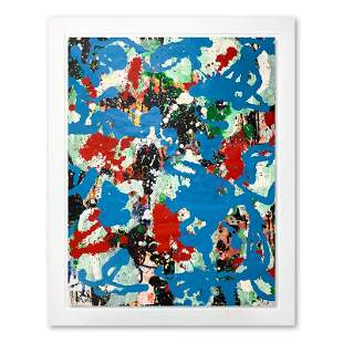 Jenik Cook, Framed Original Acrylic Painting
