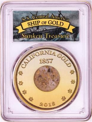 S.S. Central America Sunken Treasure 1857 Pinch