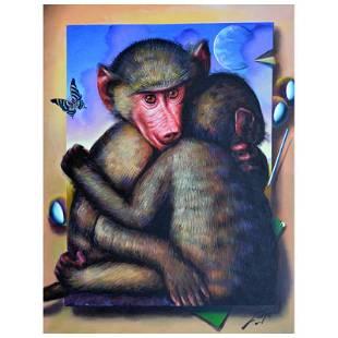 "Ferjo ""Hug Me Tight"" Original Oil on Canvas"