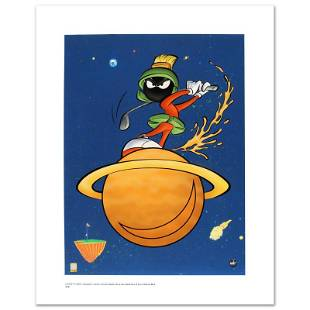 """Looney Tunes """"Marvin Martian Golf"""" Limited Edition"""