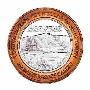 .999 Fine Silver Harveys Resort Lake Tahoe, Nevada $10