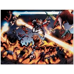 "Marvel Comics ""I Am An Avenger #4"" Limited Edition"