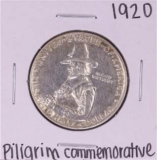 1920 Pilgrim Commemorative Half Dollar Coin