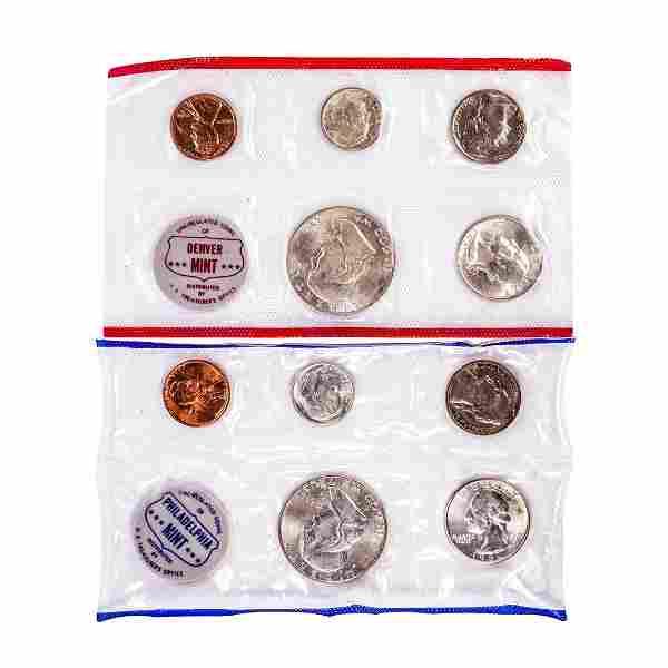 1961 P & D U.S. Mint Coin Sets