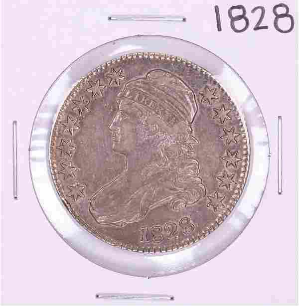 1828 Capped Bust Half Dollar Coin