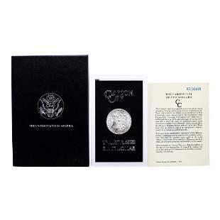 1885-CC $1 Morgan Silver Dollar Coin GSA Hoard