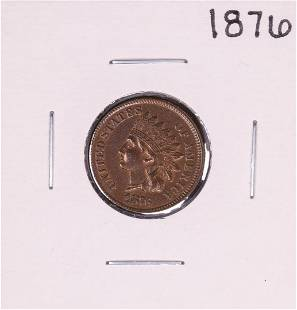 1876 Indian Head Cent Coin