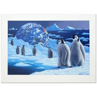 """William Schimmel """"Antarctica'S Children"""" Limited"""