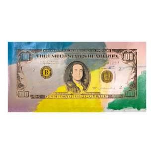 """Steve Kaufman (1960-2010) """"100 Dollar Steve Kaufman"""