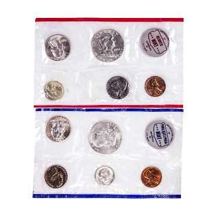 1962 P & D U.S. Mint Coin Sets