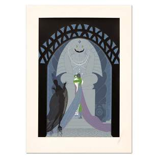 """Erte (1892-1990) """"Lovers and Idol"""" Limited Edition"""